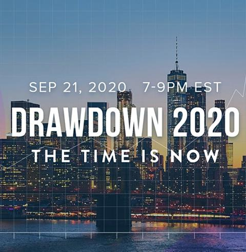 Drawdown 2020: The Time Is Now
