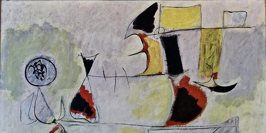 Image credit: Garden of Wish Fulfilment (detail), Arshile Gorki, 1944, Calouste Gulbenkian Foundation, Lisbon Portugal.