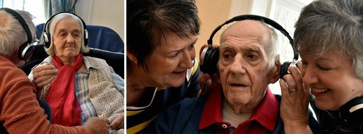 Growing number of care homes using personalised playlists to reduce use of anti-psychotic drugs