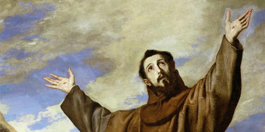 Image credit: St. Francis of Assisi (detail), Jusepe de Ribera, 1642, El Escorial.