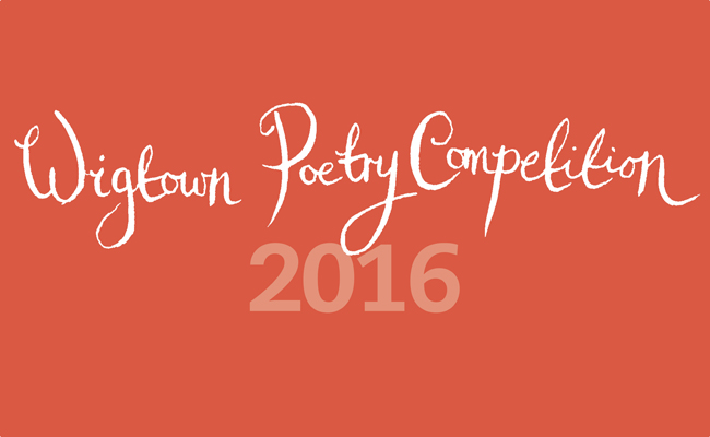 Wigtown Poetry Competition Banner
