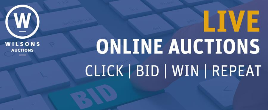 View ALL upcoming Online Auctions!