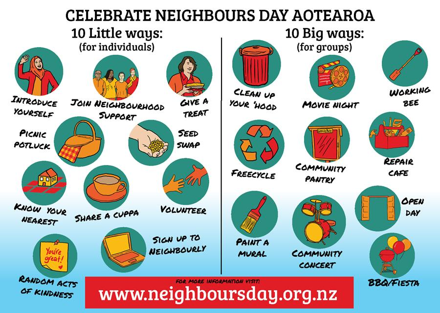 Create Neighbours Day Aotearoa.