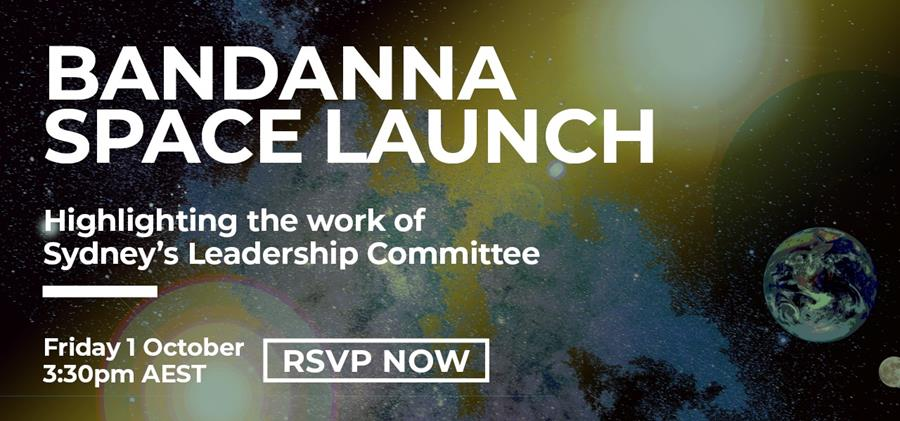 You're invited to our Bandanna Space Launch