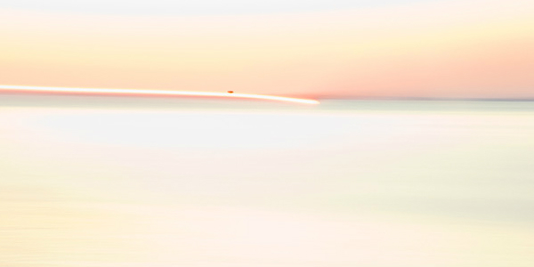 abstract photo of the sunrise by Barbara Goodbody