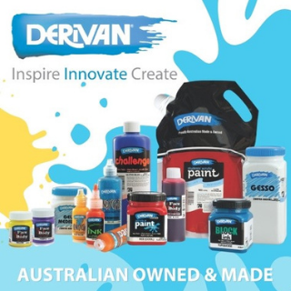 A selection of Derivan paints