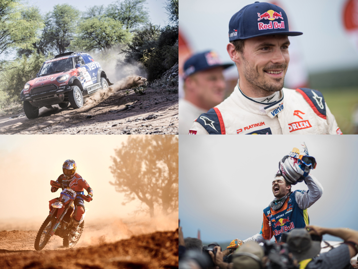 Dakar contenders flex their motoring muscles around the world