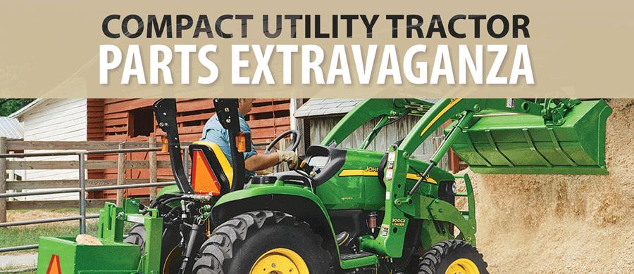 Compact Utility Tractor Parts Extravaganza