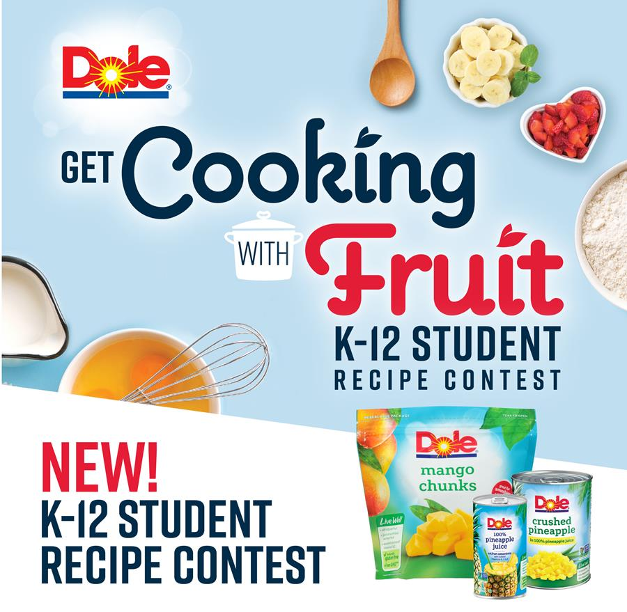Dole Get Cooking with Fruit Recipe Contest