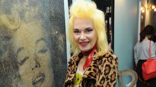 Image: Pam Hogg at The Scottish Fashion Awards event in London
