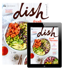 Dish magazine Spring issue