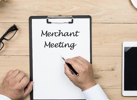 AUGUST 10 |�Merchant Meeting