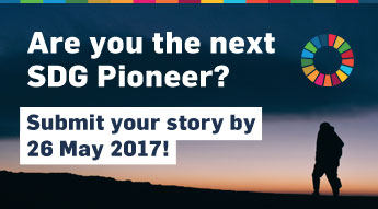 Are you the next SDG Pioneers?