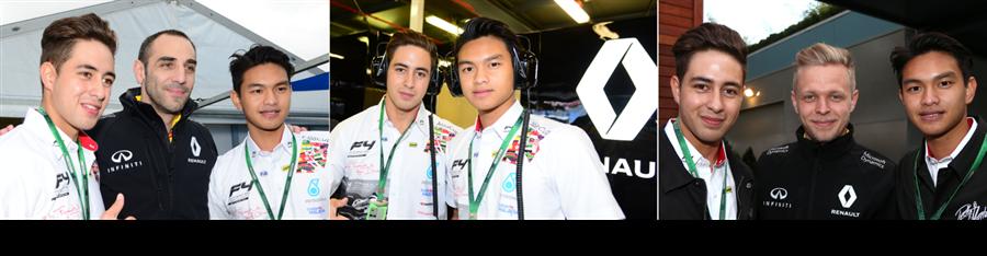 Formula 4 South East Asia at Sepang Penultimate Corner