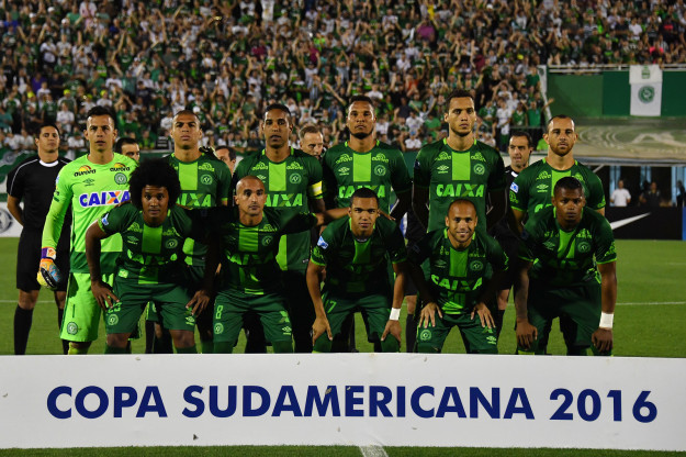 The team was set to play in the Copa Sudamericana finals against Atletico Nacional on Wednesday in Medellin.