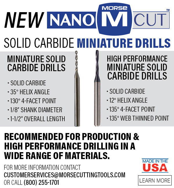 New Nano Cut Mini Drills