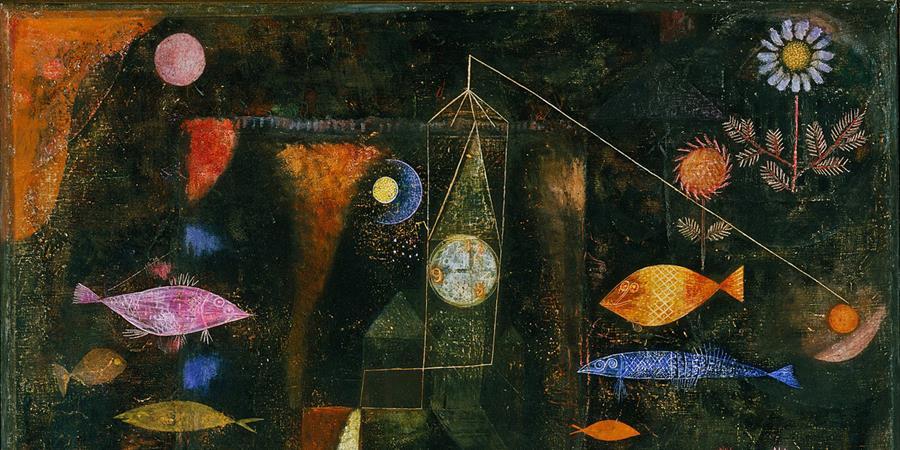 Image credit: Fish Magic (detail), Paul Klee, 1925, Philadelphia Museum of Art, Philadelphia, Pennsylvania.