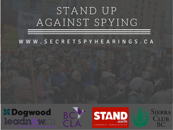 Stand Up Against Spying