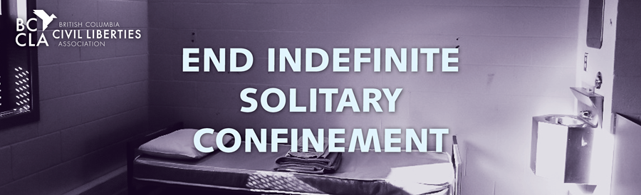 End Indefinite Solitary Confinement