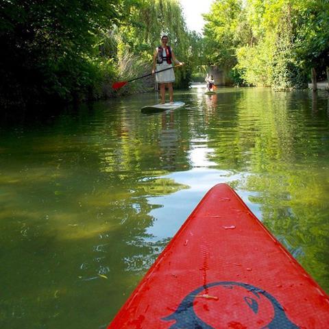 La Marne en stand up Paddle