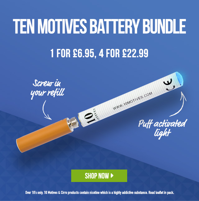 10 Motives Battery Bundle